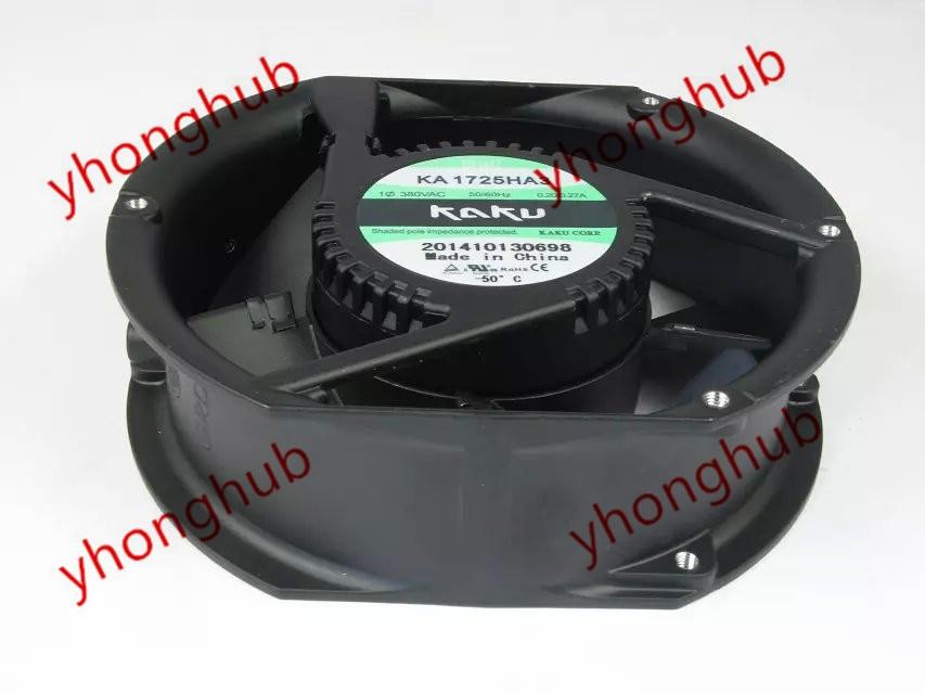 Emacro For Kaku KA1725HA3 AC 380V 45/40W 172X150X51mm Server Round Fan ebm papst 4800z 4800 z ac 115v 0 16a 0 14a 13w 12w 120x120x38mm server square fan