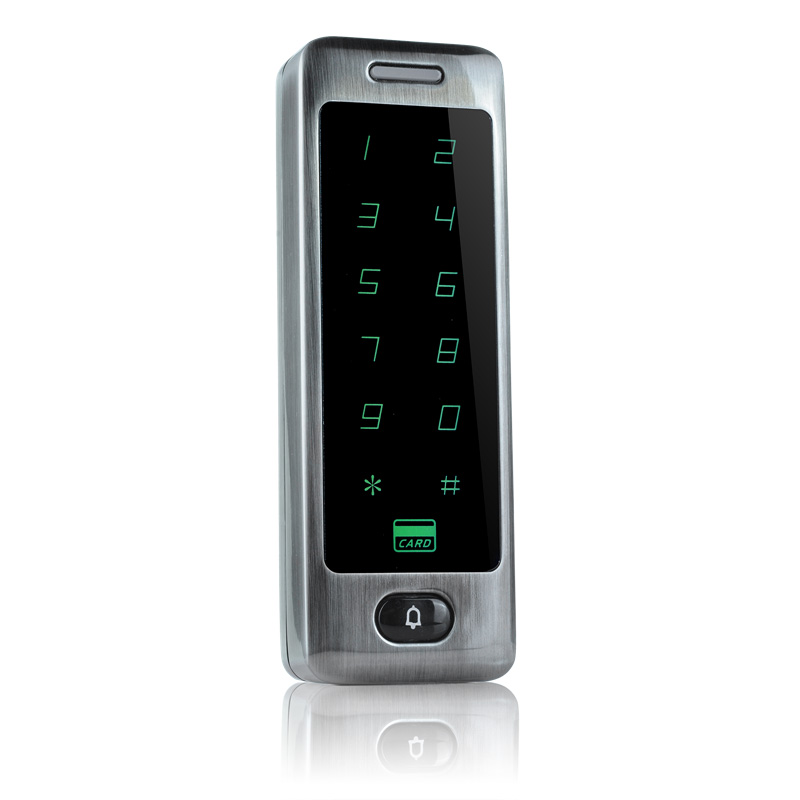 Image 3 - Waterproof Metal Touch 8000 Users Door RFID Access Control Keypad Case Reader 125khz EM4100 ID Card-in Access Control Kits from Security & Protection