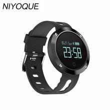 Новинка 2017 года DM58 Bluetooth 4.0 Смарт Часы Heart rateblood Давление фитнес-трекер IP68 Водонепроницаемый спортивные часы для IOS Android