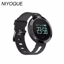 2017 New DM58 Bluetooth 4.0 Smart Watch Heart RateBlood Pressure Fitness Tracker IP68 Waterproof Sports Watch for IOS Android