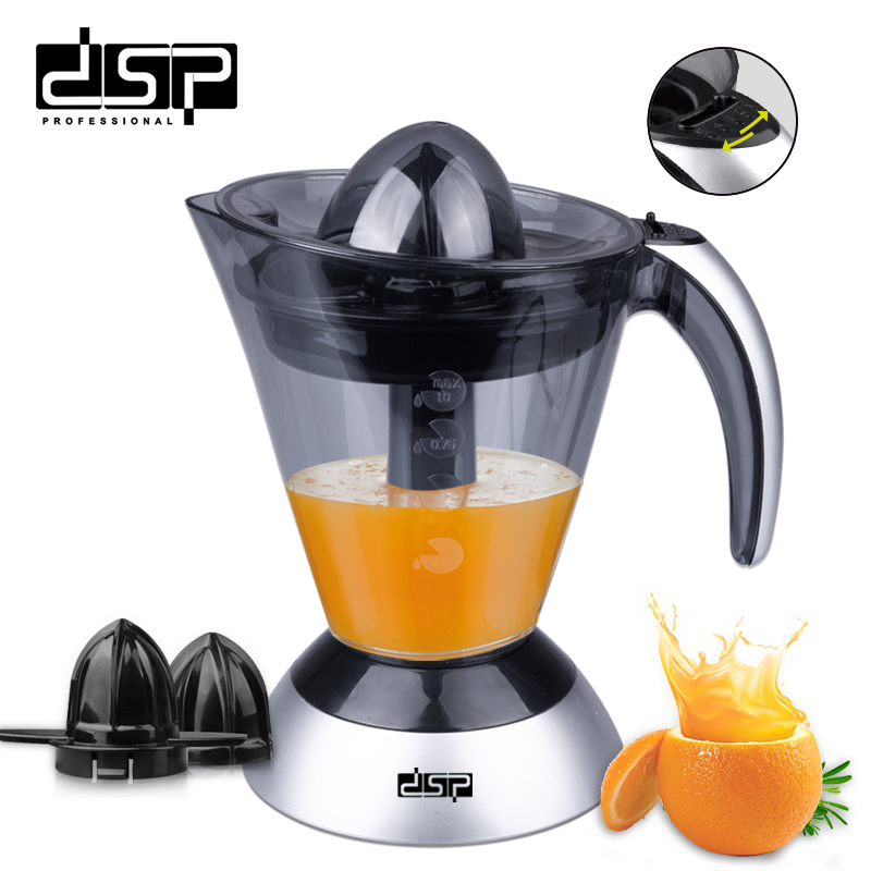 DSP Easy to operate Household orange squeezer masticating juicer Slow orange juicer fresh fruit juice 220v jyz e19 household orange slow juicer fruit vegetable low speed juicer electric stainless steel orange juicer