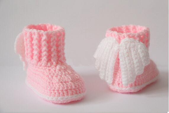 € 6.44 |Novedad zapatillas de Bebé Zapatos de suela suave para niñas zapatos de ganchillo de hilo hechos a mano zapatos de tenis de bebé Niños Primero