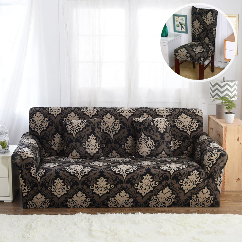 Elastic Slipcovers Polyester Modern Covers Furniture