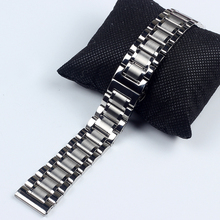 Stainless Steel Watch bands For master Collection Watch Strap 14MM 18MM 19MM 20MM 21MM 22MM 24MM men women metal watch bracelets недорого