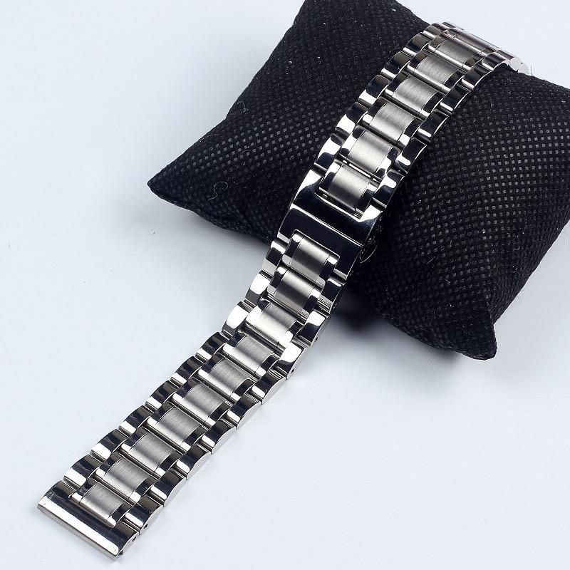 Ремешок из нержавеющей стали для наручных часов master Collection, металлический браслет для мужчин и женщин, 14 мм 18 мм 19 мм 20 мм 21 мм 22 мм 24 мм|Ремешки для часов| | АлиЭкспресс