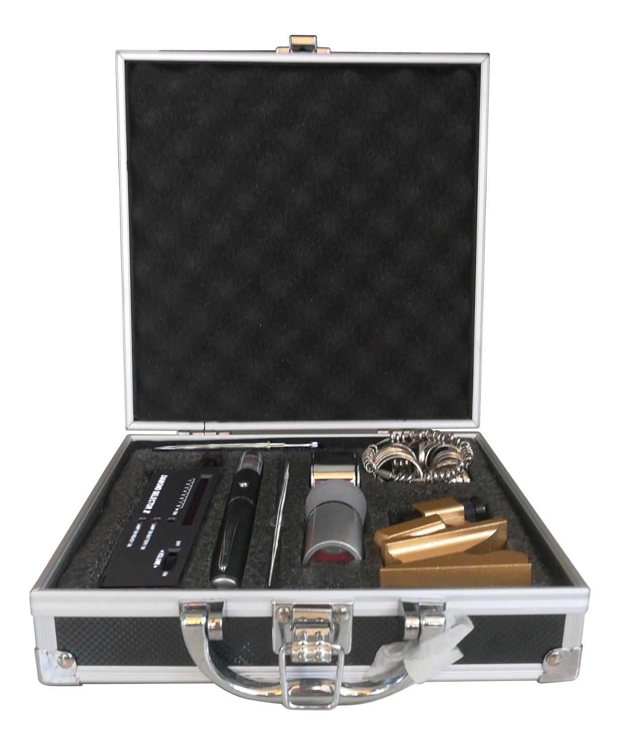 GIA Loupe Magnifier Diamond Gemstones Testing Tool Box Professional Diamond Tester Tool Set