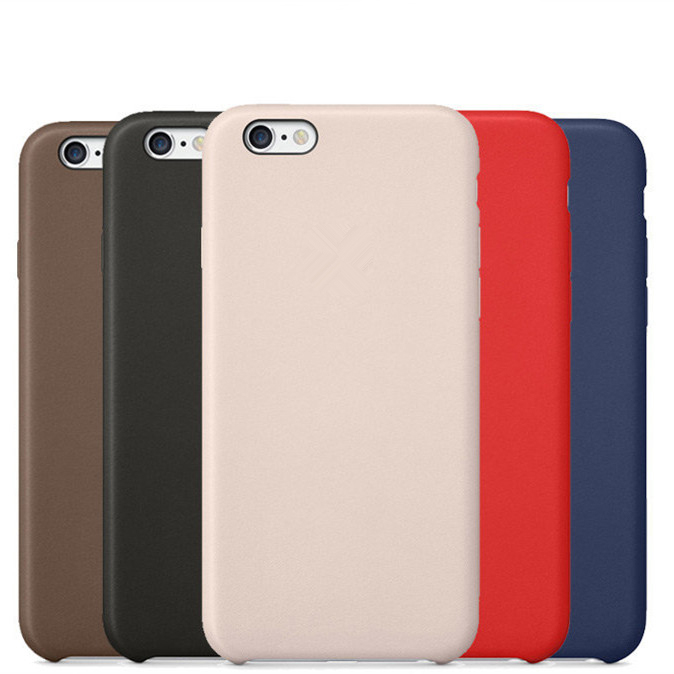 With LOGO Luxury Ultra-thin Leather Case Cover for iPhone 6 6S 6 Plus 6s Plus Case Back Cover for iphone 6s Capa Fundas