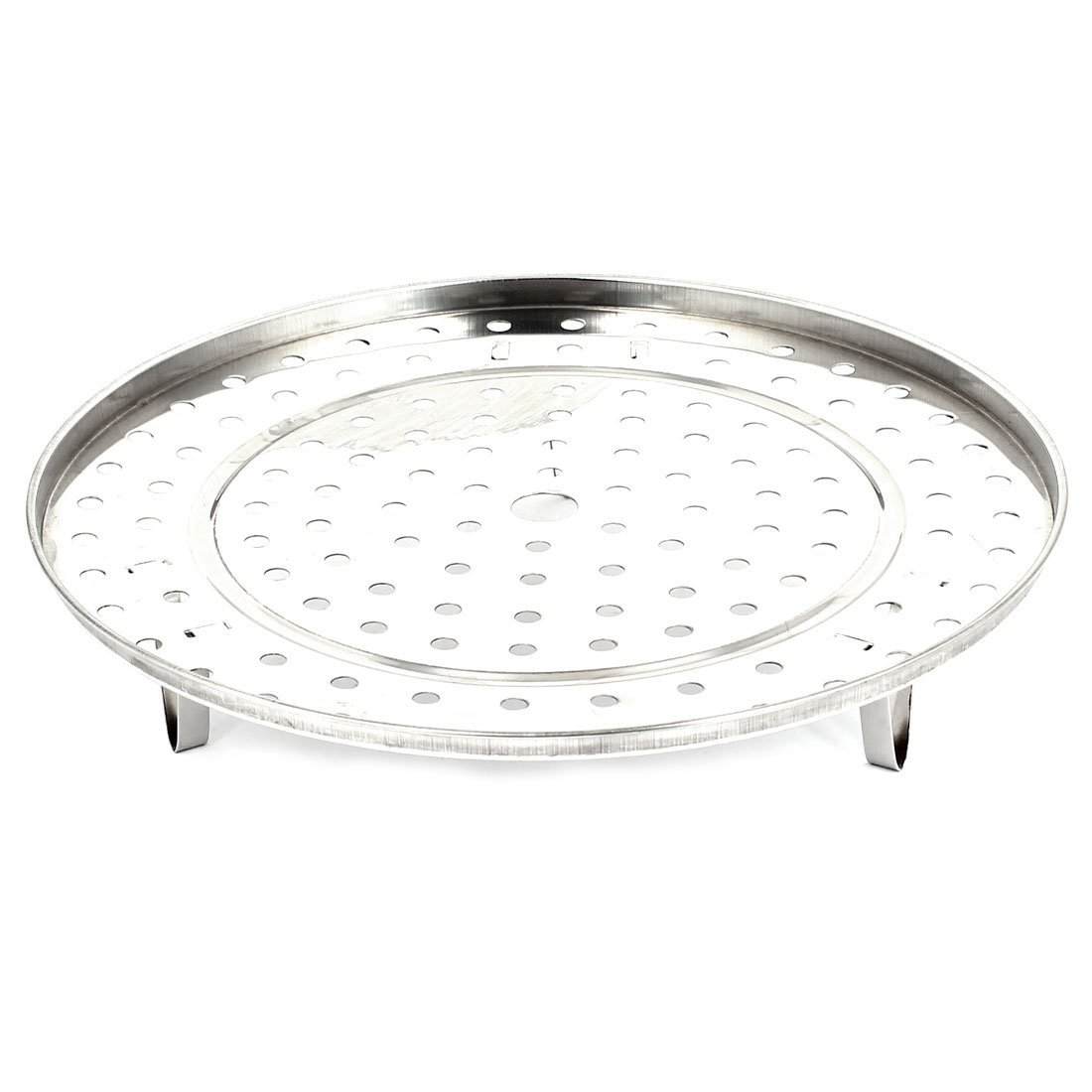 GSFY-Stainless Steel Kitchen Food Steaming Steamer Rack Stand 27.5cm