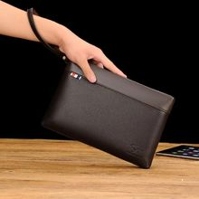 Luxury Retro Cowhide Men Clutch Bag Genuine Leather Male Bag Waist Packs Business Wallets Long Large Capacity Man Day Clutches все цены