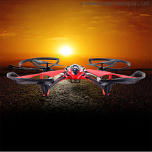 Free shipping drone 2015 New 2.4G 4CH 6 Axis Gyro RC Helicopter Quadcopter With HD Camera Red Blue Yellow L6052W VS H8D MJX X101