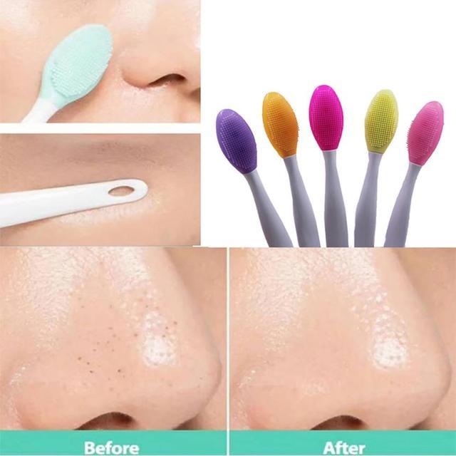 Colorful Design Facial Cleansing Brushes 2 Pcs Set