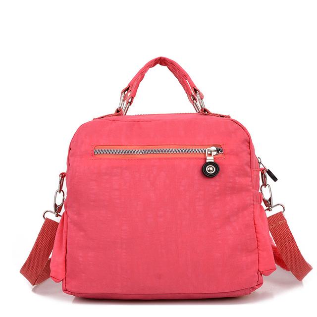 Fashion Womens Purses And Handbags Nylon Canvas Waterproof Crossbody Bags Hand Bags Women Bolsos Mujer Shoulder Bag