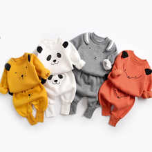 Baby Suit Autumn Winter Baby Boy Cartoon Cute Clothing Pullover Sweatshirt Top + Pant Clothes Set Baby Toddler Girl Outfit Suit - DISCOUNT ITEM  25% OFF All Category