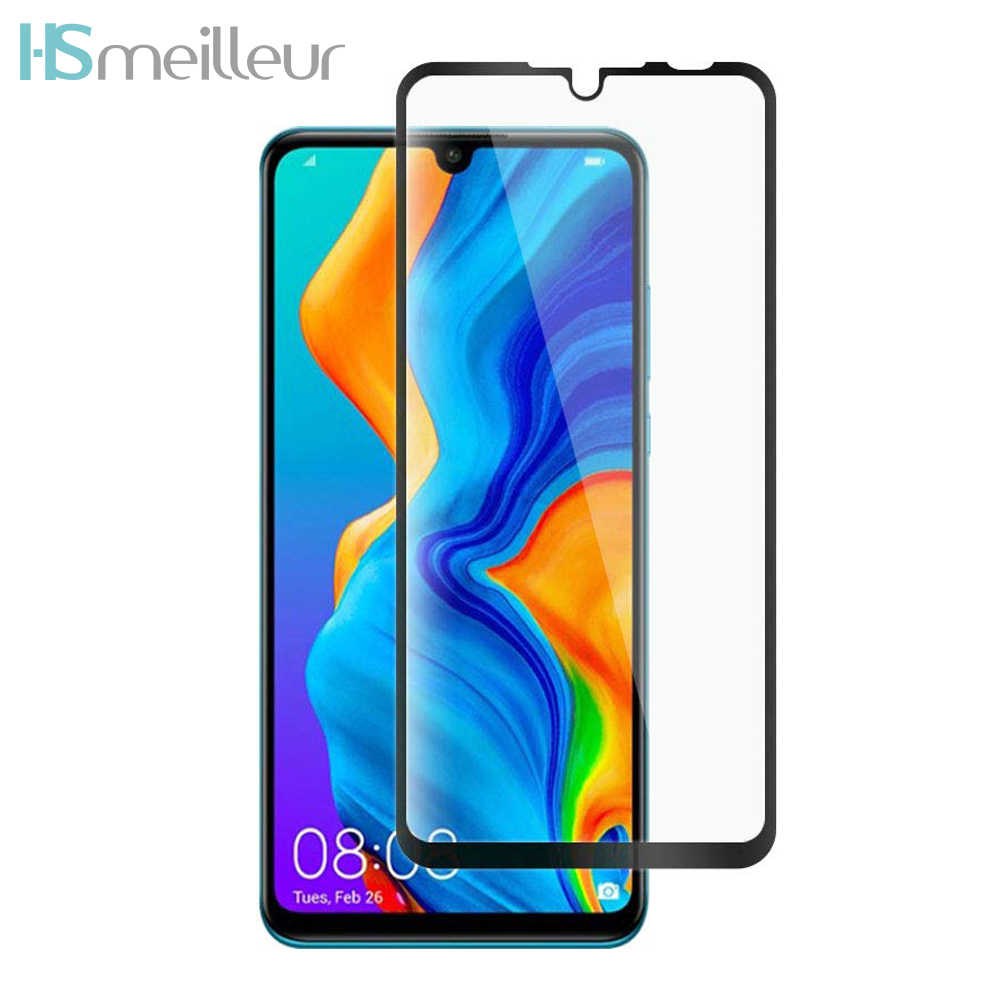Hsmeilleur For Huawei P20 Lite Screen Protector Tempered Glass Film Protetor For Huawei P30 P20 Lite Mate 20 20X Vidrio Templado