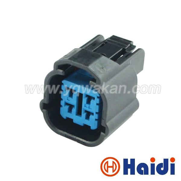 Free shipping Honda 4pin electric Black Waterproof Female