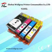 4PCS 920 kompatibel tinte patrone für HP 920XL Für HP920 Officejet 6000 6500 6500A 7000 7500 7500A drucker mit chip