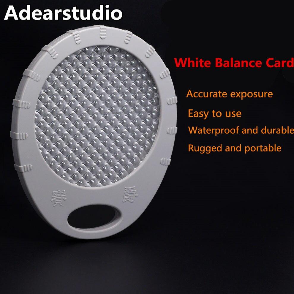 Adearstudio Balance des Blancs Carte Filtre Cendres 18 Mennon 55mm Balance des Blancs Personnalisée WB Lens Cap Remplacer Carte Grise pour DSLR Caméra d50