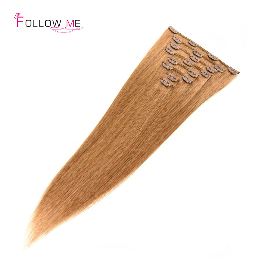 human hair clip in extensions (5)