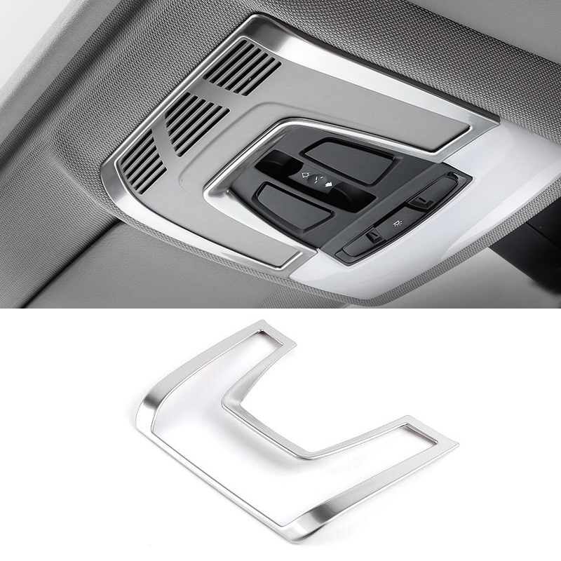 Car Reading Light Cover Trim decoration strips Interior roof Lamp ...