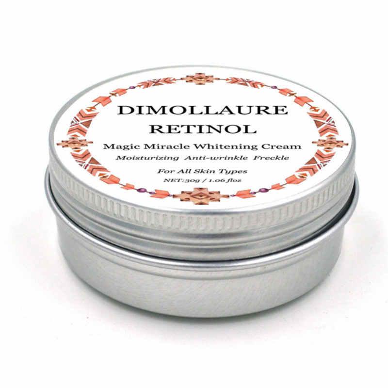 Dimollaure Retinol Moisturizer Gezicht Crème Vitamine E Collageen Anti Aging Rimpels Acne melasma Hyaluronzuur Whitening Cream