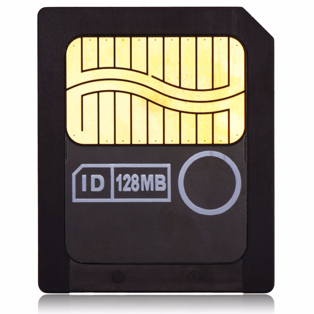Toshiba 128MB 3.3V 3V SmartMedia Card SM 128M Memory Card GENUINE Smart Media Card By TOSHIBA Used Item NOT New.