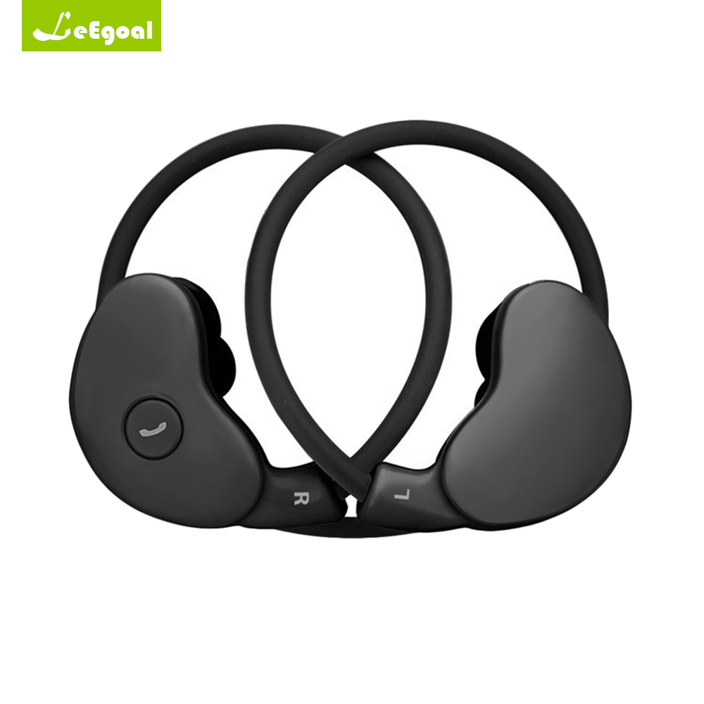Leegoal Headset Wireless Earphone Headphone Bluetooth 4.1 stereo Earpiece Sport Running Stereo Earbuds with mic Auriculares