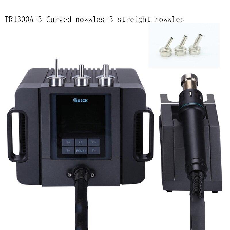 Original TR1300A intelligent hot air soldering station mobile phone repair hot air gun demolition welding 1300W rework station|Soldering Stations| |  - title=