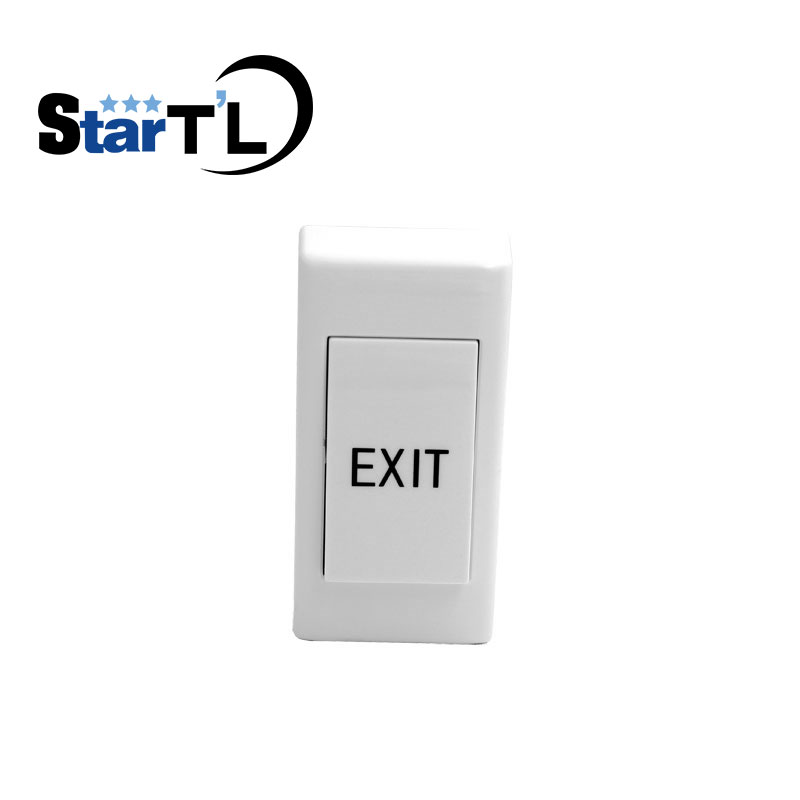 Small Access Control Push Button Wall Mount Exit Button Push Door Release Exit Button Switch For Electric Access Control System exit wound