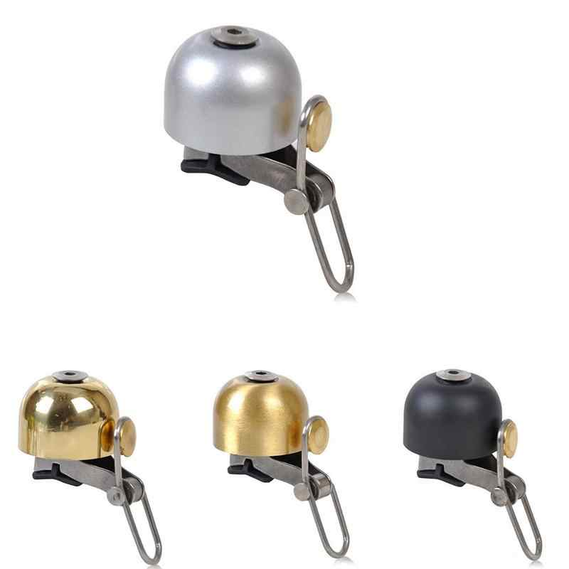 MTB Bike Motorcycle Bell Sound Bicycle Bell Stainless Steel Material Gold Black Silver And Copper Color Bicycle Bell