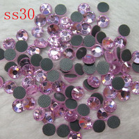 SS30 40gross/5760pcs!wholesale price DMC hot fix stone (4.6 4.8mm) free sipping crystal glass rhinestones of diy cap designs