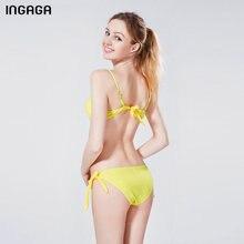 Sexy 2018 Bikini Set Push Up Swimwear Women Strap Bandage Swimsuit Bathing Suits Summer Beach Bathing Suits XXXL