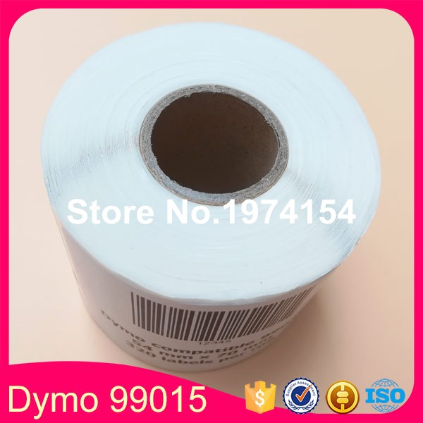 6 x Rolls Dymo compatible labels 99015, label size: 54mm x 70mm, 320 labels per roll