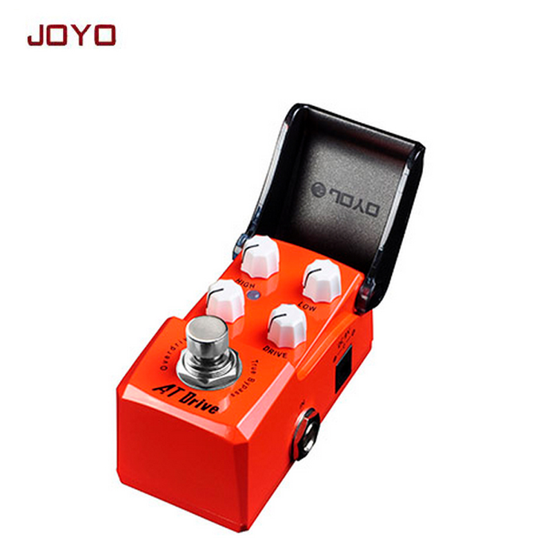JOYO JF-305 IRONMAN Overdrive Mini Smart guitar effect Pedal mini but high-power suit for driving distortion pedal free shipping high quality mini overdrive pedal