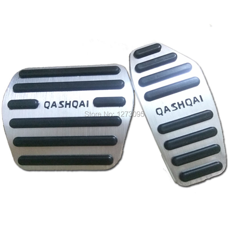 Car Accelerator Pedal for Nissan Qashqai J11 2014 2015 2016 2017 AT Gas Pedal Brake Pedal Pad Cover Trim Car Styling Accessories litanglee car accelerator pedal pad cover racing sport for mini cooper clubman r55 f54 2007 onwork at foot throttle pedal cover