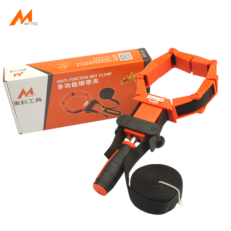 Band Clamp with Quick-Release Levers 4M Strap Belt Clamps Ratcheting Picture Frame Corner Mitre Clamp Woodworking Tools eglo подвесной светильник eglo cossano 94641