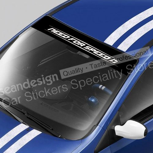 Need for Speed Shift Windshield Decal Sticker PVC image