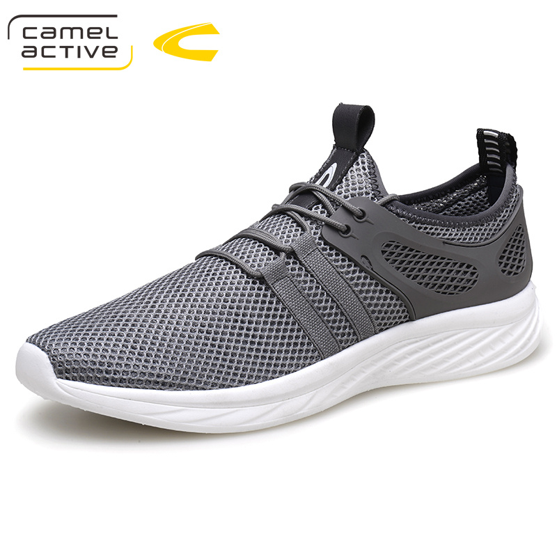 Camel Active New Casual Shoes Men 2018 Summer Breathable Mesh Flats Shoes for Unisex Soft Lightweight Male Beach Shoes 18053 summer men sandals 2016 new casual style fishermen mesh shoes man solid breathable soft beach shoes flats for lovers xwz3112