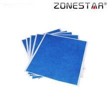 ZONESTAR 5 PCS/lot 3D printer Blue High temperature tape 5 sheets 200mm * 210 mm
