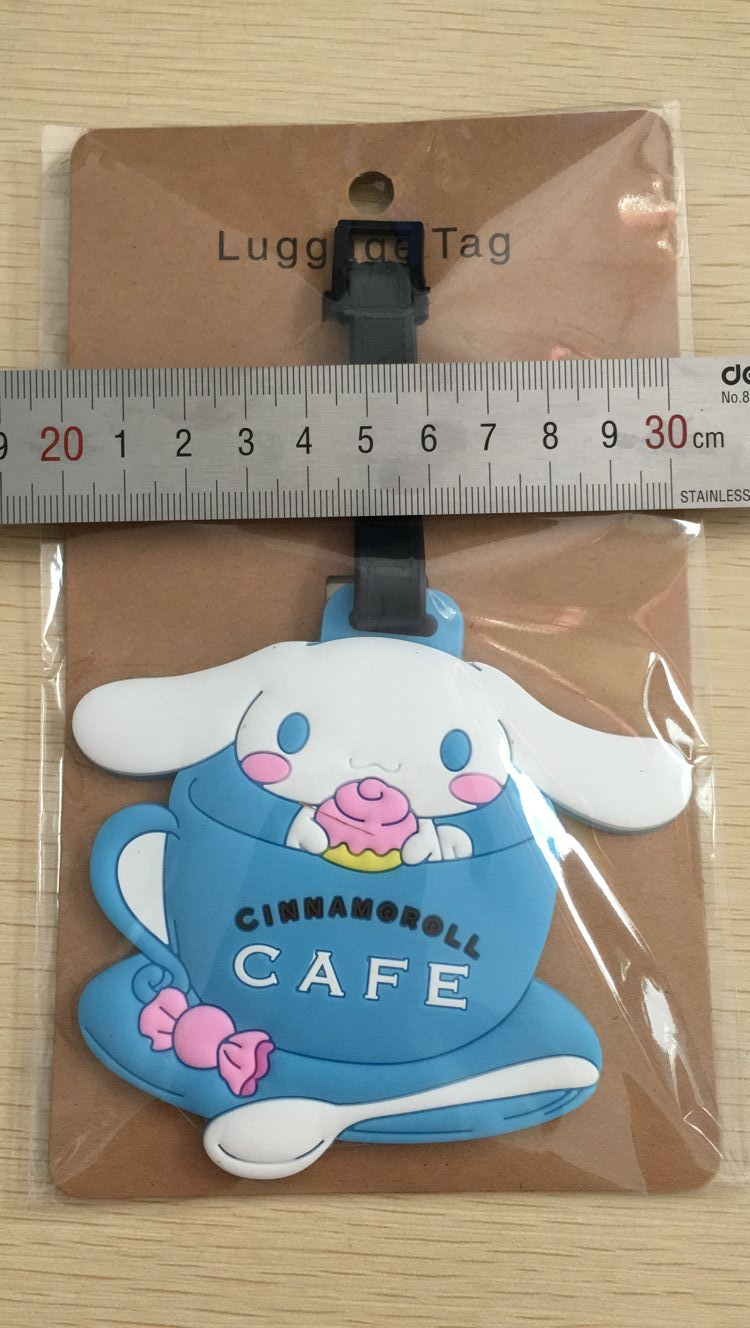 1pcs cinnamoroll cup/prince/Unicorn Pendant Travel Name