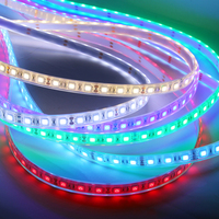 5M LED Strips 5050 IP68 Waterproof DC 12V 60Led M RGB Use Under Water Outdoors LED