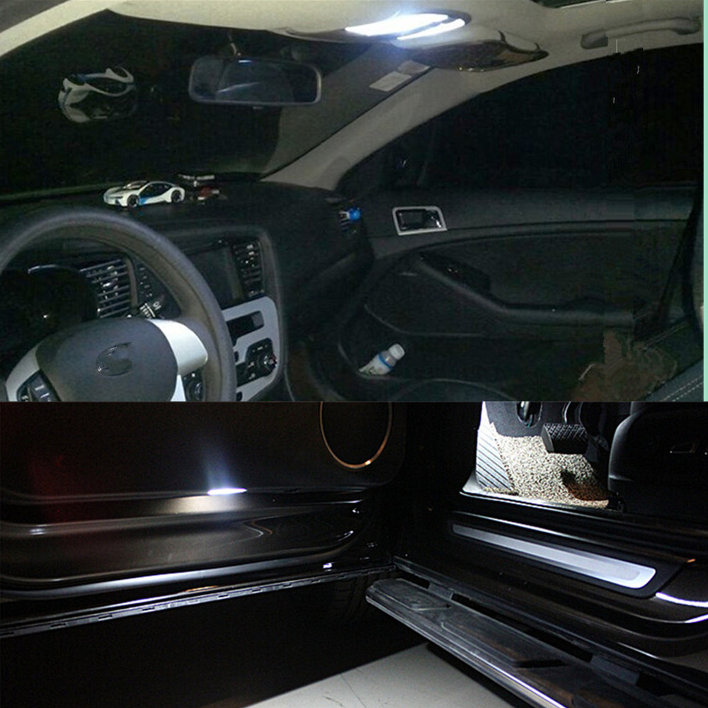 12pcs car led interior lights kit package for kia mohave borrego dome rear trunk vanity mirror. Black Bedroom Furniture Sets. Home Design Ideas