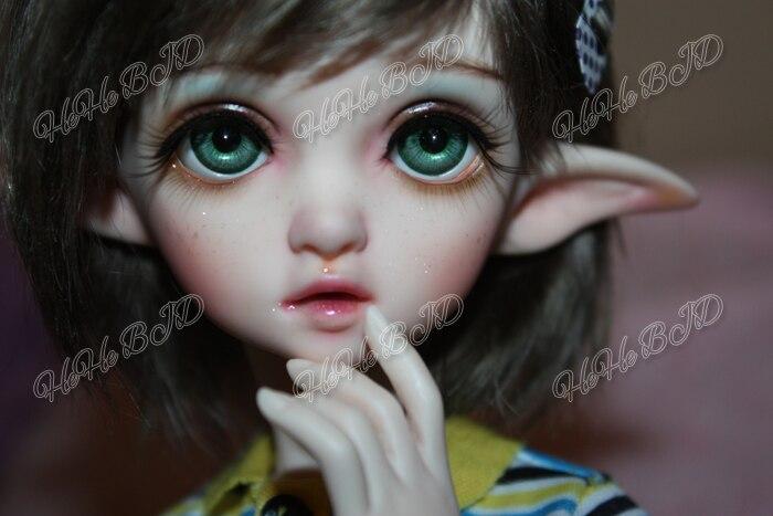 HeHeBJD brand new bjd 1 4 Flowne not Flowen ELF doll free shipping free eyes