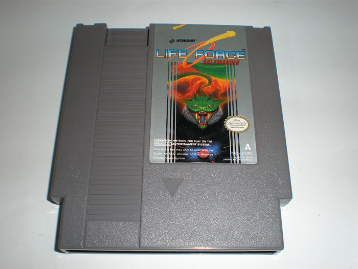 New arrival 72 pins 8 bit game cartridge free shipping — Life force