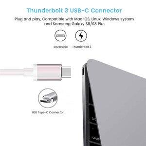 Image 5 - USB C TO HDMI DisplayPort 3840*2160 4K ประเภท C ถึง VGA DVI 1080P ADAPTER Converter สำหรับ MacBook Projector Monitor