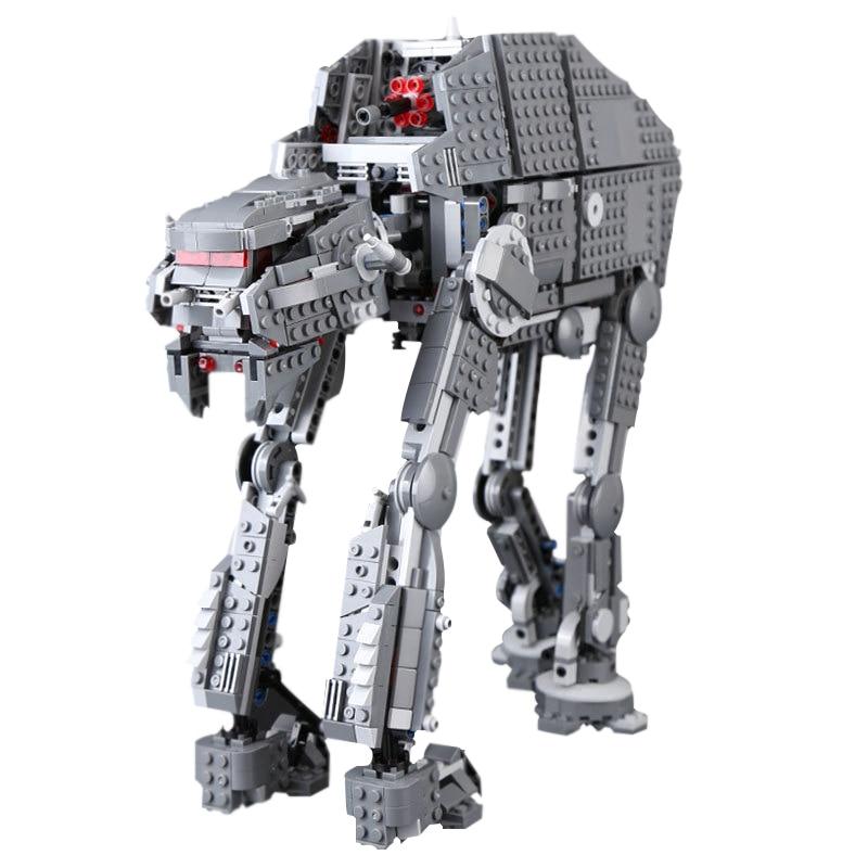 Lepin 05130 Star Wars Series The First Order Heavy Assault Walker Building Blocks Bricks For Children Christmas Gifts Legoingly