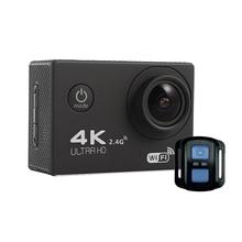 2016 gopro hero 4 стиль Действий камеры F60 Ultra HD 4 К Wi-Fi Подводные 30 М Спорт Камера 2.0 «LCD 1080 P 60fps Камеры Автомобиля Рекордер
