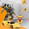 Um carro de controle remoto deformação carro paredes robôs deformação carro de controle remoto carro de brinquedo carro