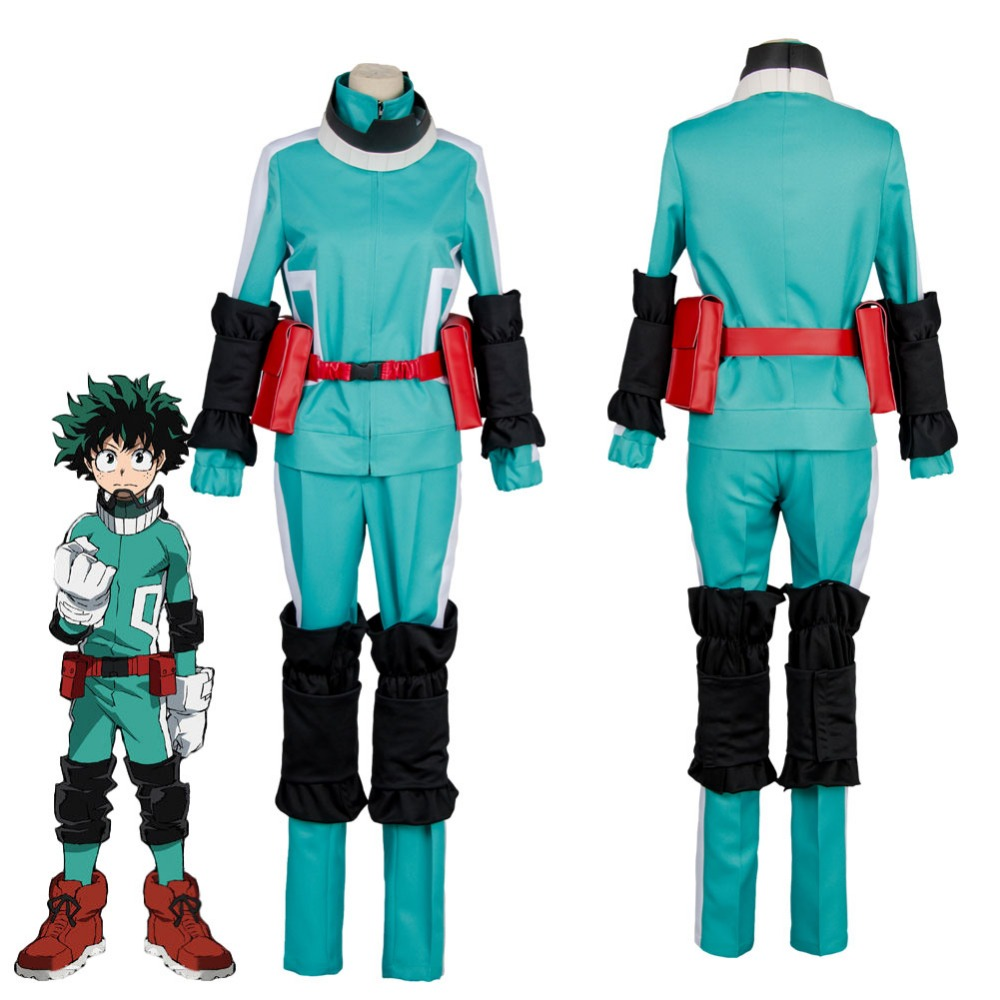 My Hero Academia Cosplay Uniforms Boku no Hero Academia Izuku Midoriya Katsuki Bakugou Battle Cosplay Costume