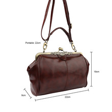 Aelicy PU Leather Totes Bags Handbags Women Famous Brands Fashion Retro Women Messenger Bags Small Shoulder Bag High Quality