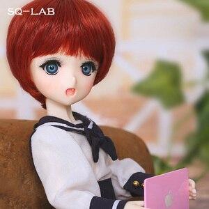 Image 4 - SQ מעבדה _ מו Chibi 31cm 1/6 BJD SD שרף דגם תינוק בנות בני בובות משלוח עיניים באיכות גבוהה יום הולדת מתנות חנות Fullset OUENEIFS